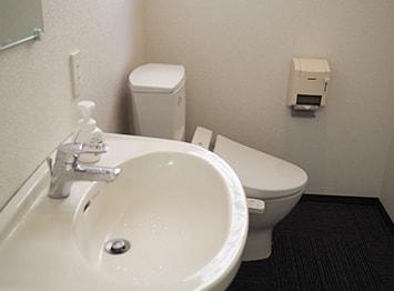 洗面台&水洗シャワー付きトイレ